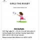 Girls Tag Rugby!