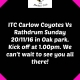 ITC Carlow Coyotes Vs Rathdrum