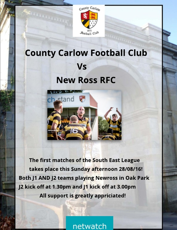 Carlow Vs New Ross 2016 home